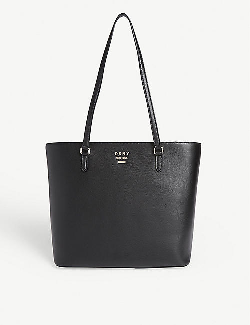 DKNY: Whitney leather large tote