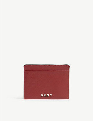 DKNY Bryant leather card holder