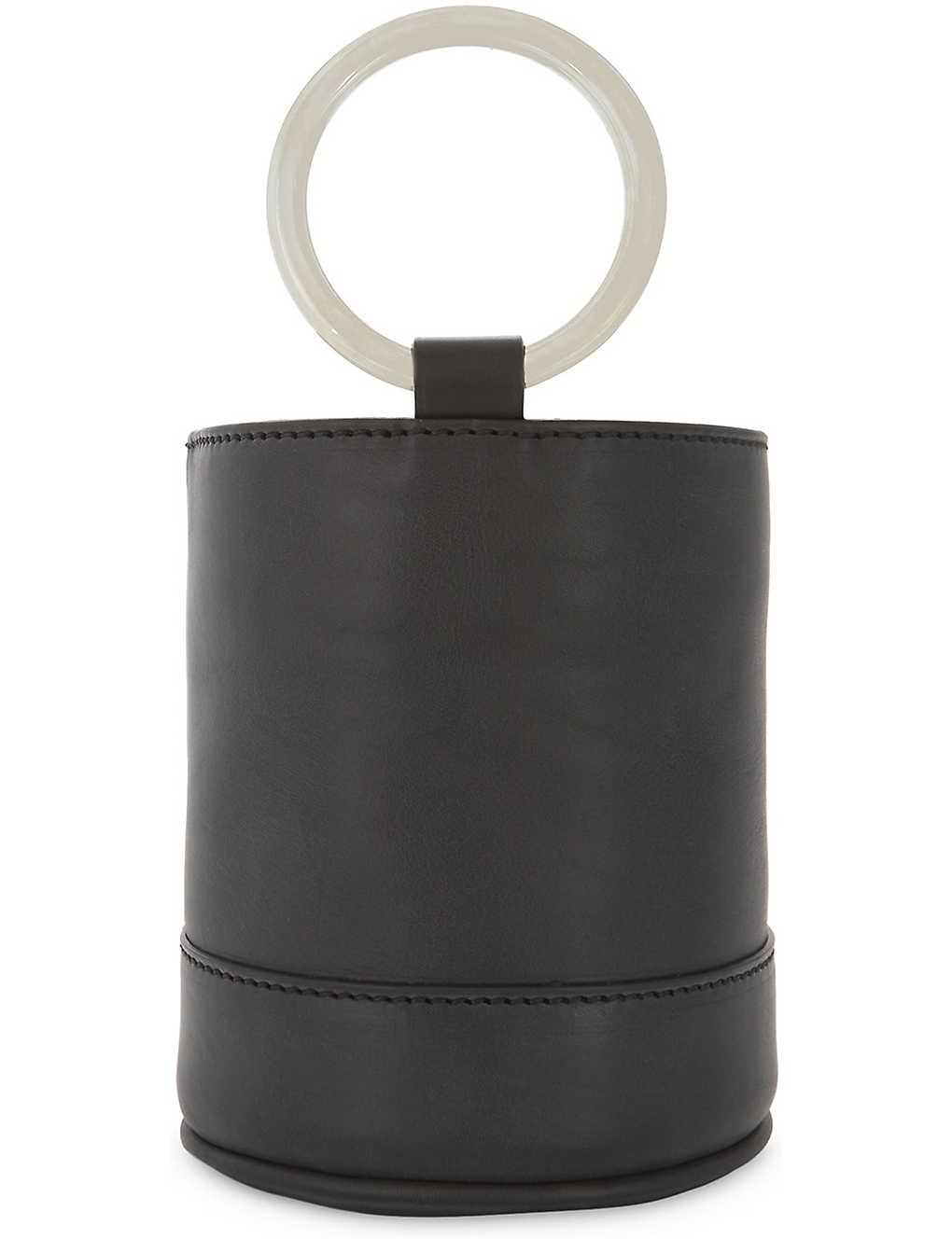 8c0b75b5945 SIMON MILLER - Bonsai 15 mini suede bucket bag | Selfridges.com