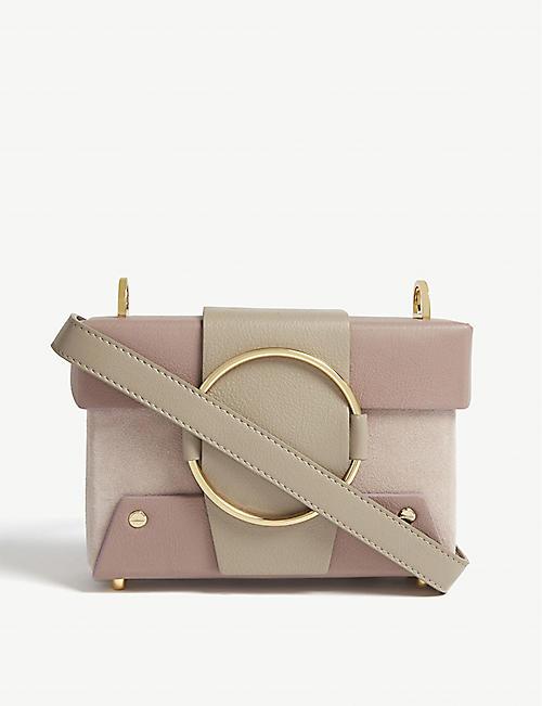 384c53333d1e YUZEFI Asher leather shoulder bag