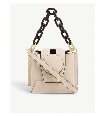 Yuzefi Bags Daria leather bucket bag