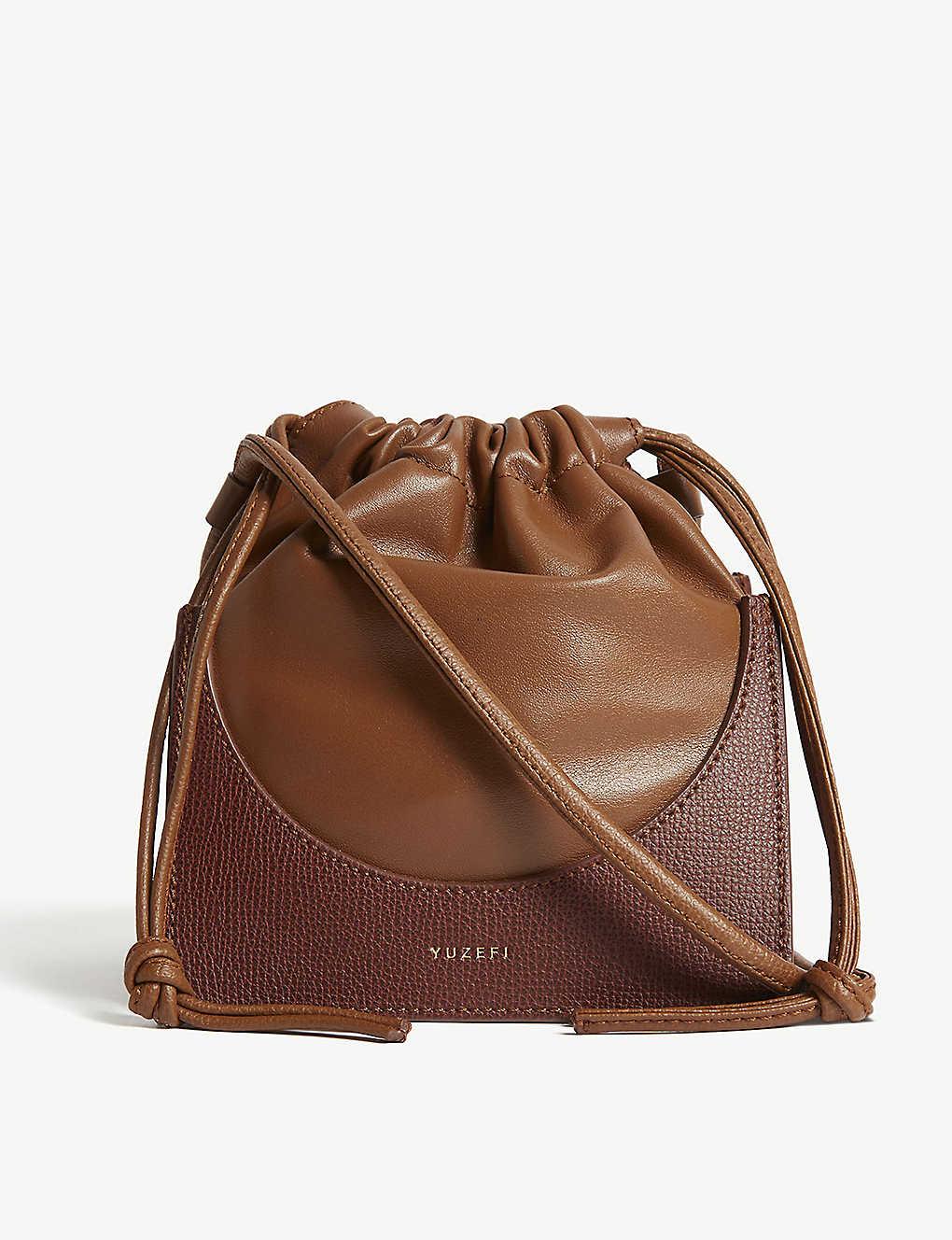 f01b4d989c YUZEFI - Pouchy leather shoulder bag   Selfridges.com