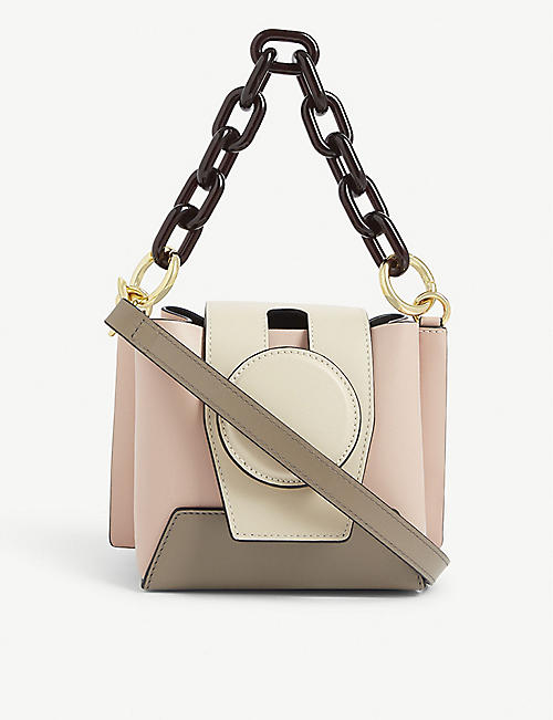 YUZEFI Daria leather bucket bag