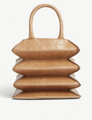 STAUD Hutton leather tote