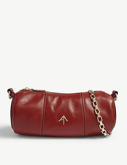MANU ATELIER: Cylinder shoulder bag