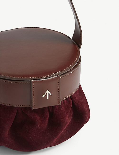 MANU ATELIER Leather pouch bag
