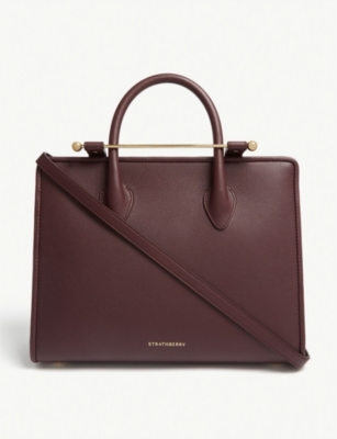 STRATHBERRY The Strathberry Midi leather tote