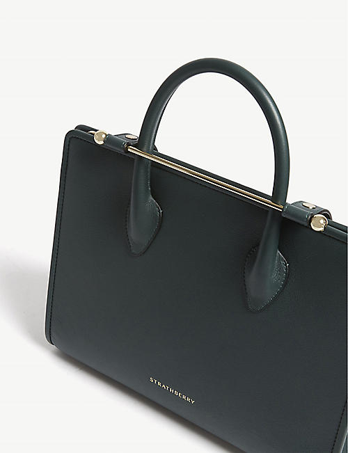 STRATHBERRY Midi leather tote