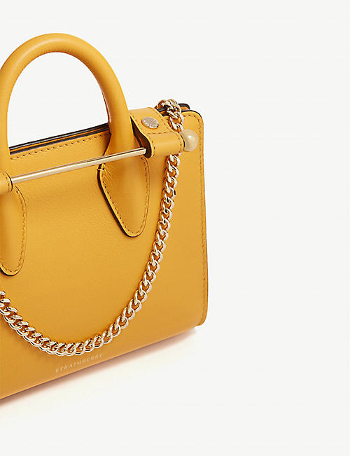 STRATHBERRY Nano grained leather tote