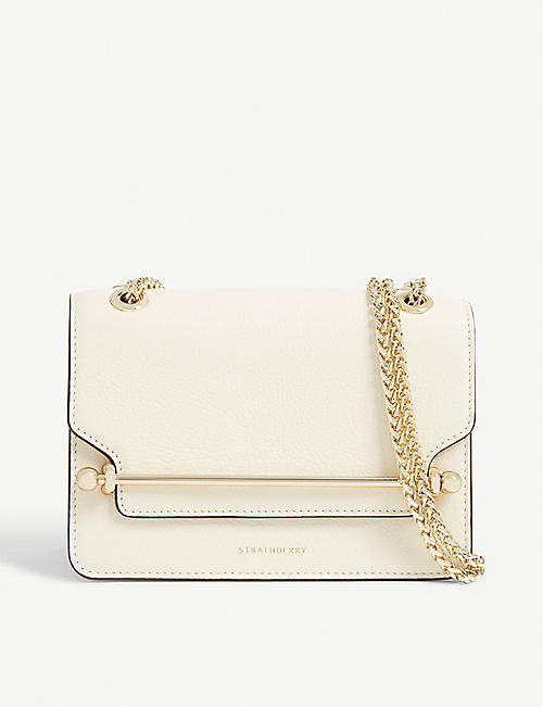 STRATHBERRY East/West mini cross-body bag