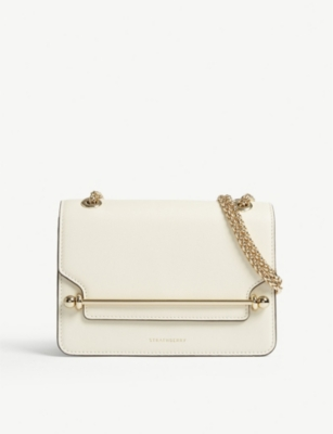 STRATHBERRY East/West mini leather cross-body bag
