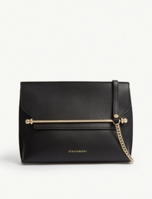 STRATHBERRY East/West Stylist leather cross-body bag