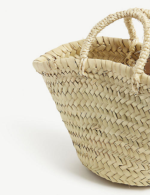 EDIT58 Woven basket bag