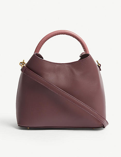 dcff16e8db3 ELLEME Baozi leather shoulder bag