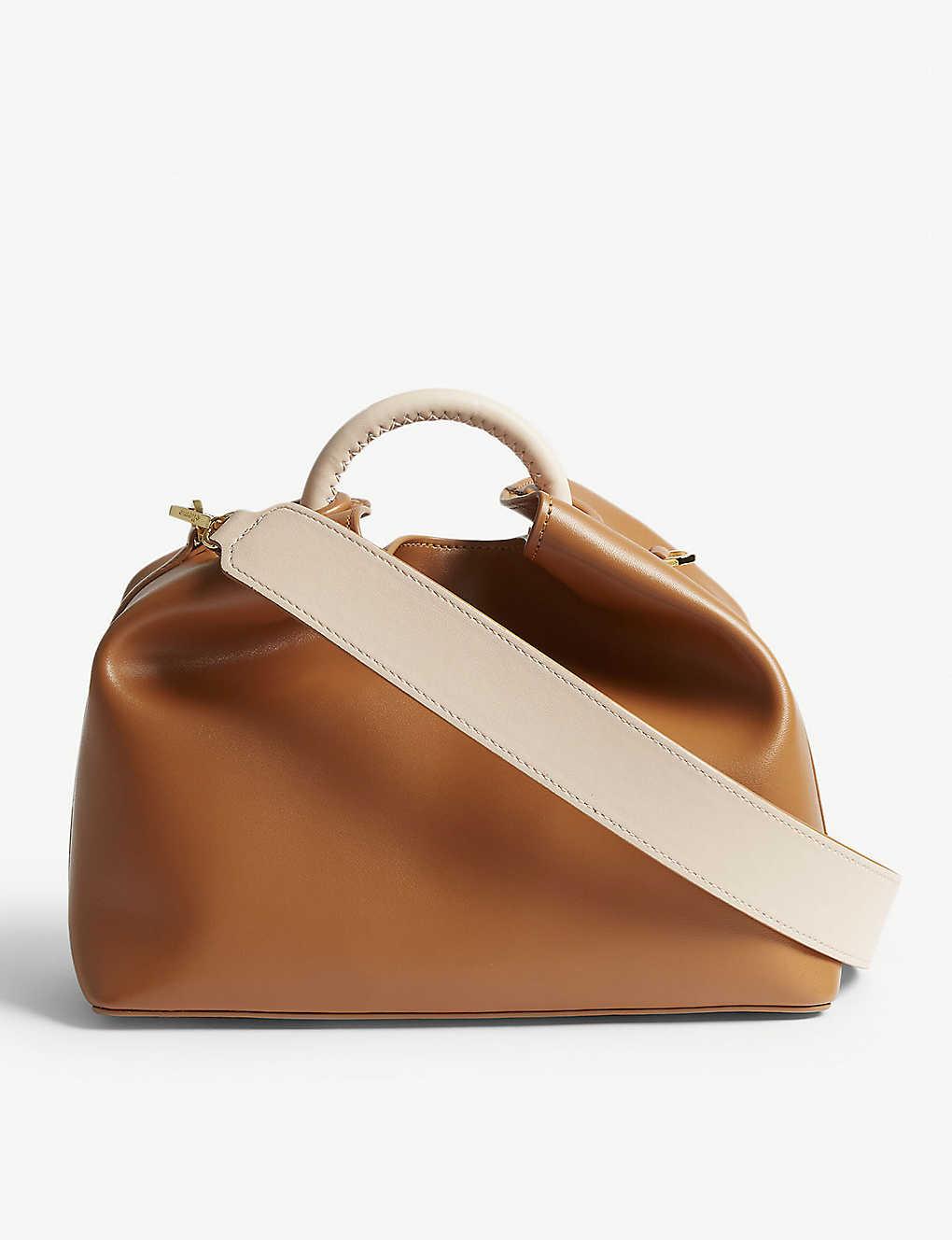 4eabb0141f2 ELLEME - Raisin leather shoulder bag