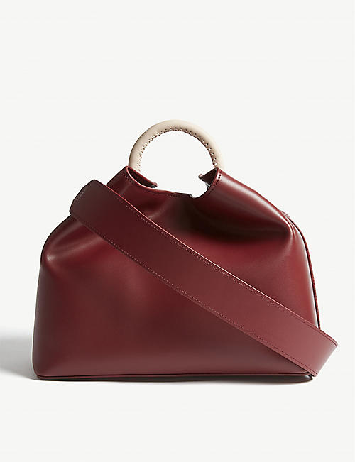 ELLEME Raisin leather shoulder bag 7eda5fedc