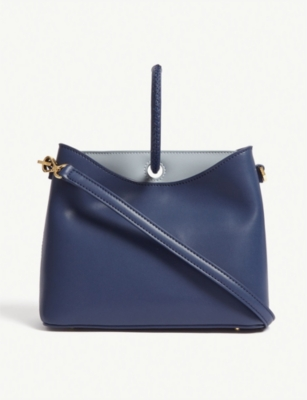 ELLEME Simone leather shoulder bag