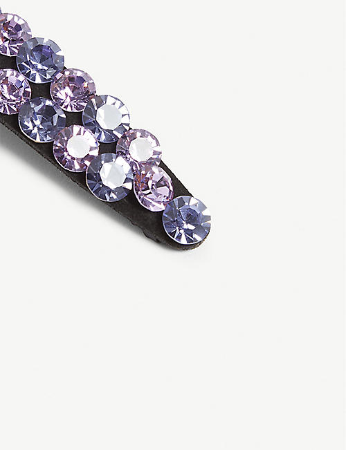 VALET Monique crystal-embellished hair clip