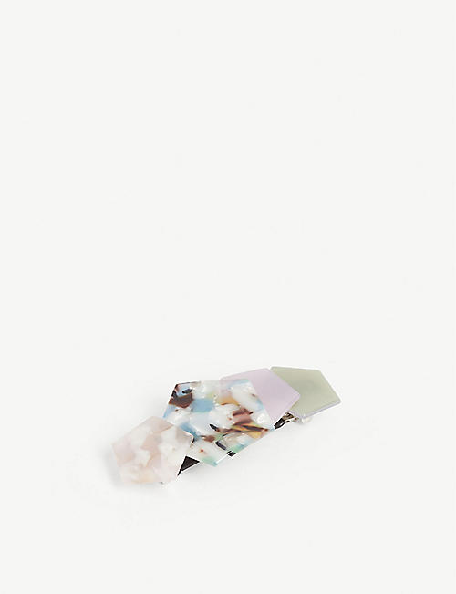 VALET Chloe resin hair clip