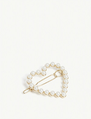 RELIQUIA Kora heart-shaped clip