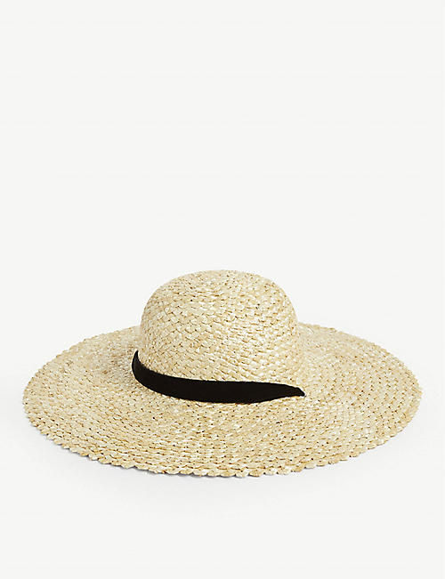 LACK OF COLOR Dolce straw hat