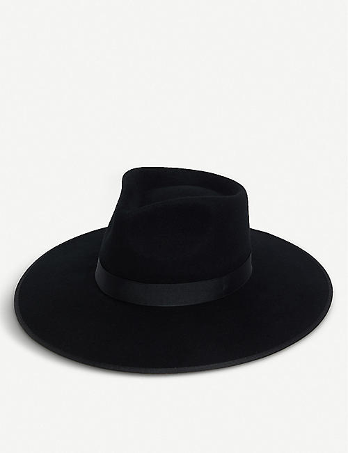 LACK OF COLOR Rancher wool fedora hat