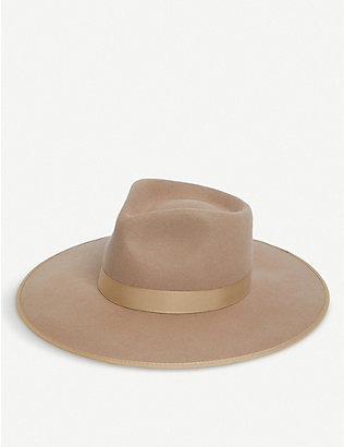 LACK OF COLOR: Zulu Rancher wool fedora hat