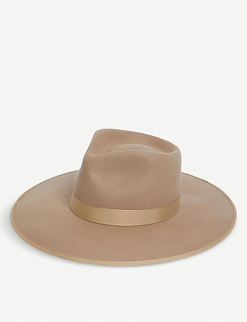 LACK OF COLOR Zulu Rancher wool fedora hat