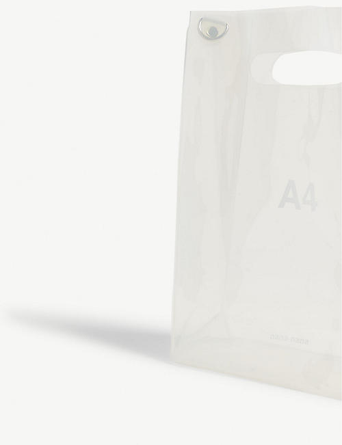 NANA-NANA A6 transparent PVC tote bag