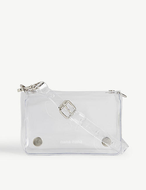 NANA-NANA B7 PVC cross-body bag