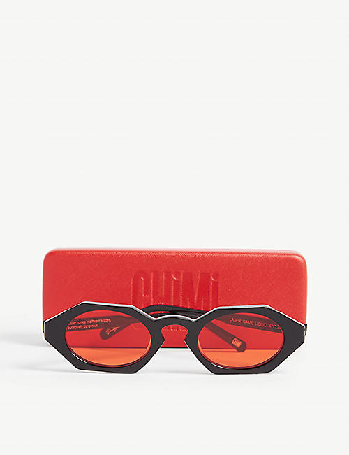 CHIMI Laser Liquid irregular-frame sunglasses
