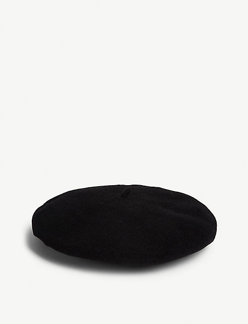 ITCHY SCRATCHY PATCHY Wool Anarchy beret