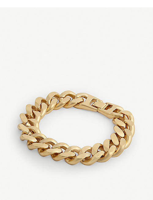 VANESSA MOONEY Cypress gold-plated bracelet