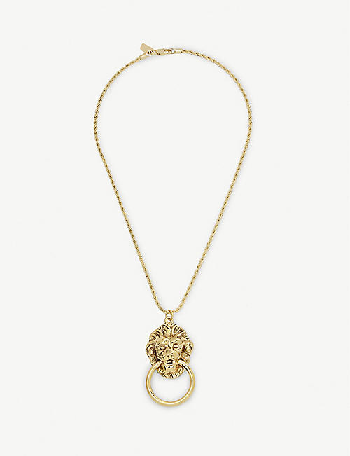 VANESSA MOONEY Vixen Door Knocker Necklace