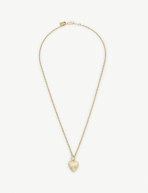 VANESSA MOONEY The Heart locket necklace