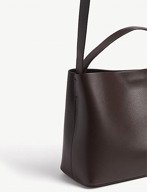 AESTHER EKME Mini Sac leather shoulder bag