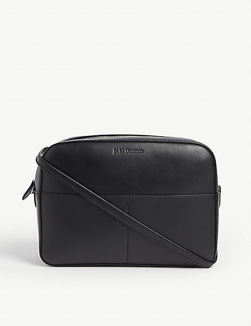 J & M DAVIDSON The Pebble leather bag