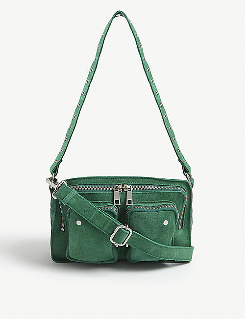 NUNOO Ellie suede shoulder bag