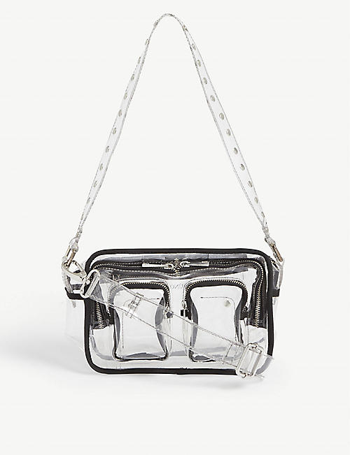 NUNOO Ellie transparent crossbody bag