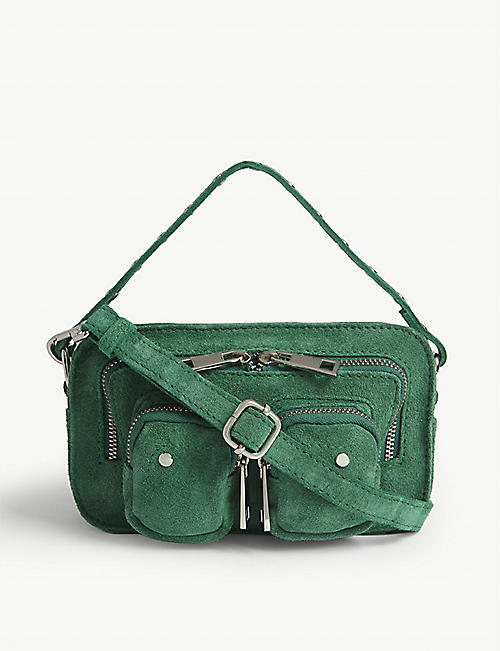 NUNOO Helena suede mini shoulder bag