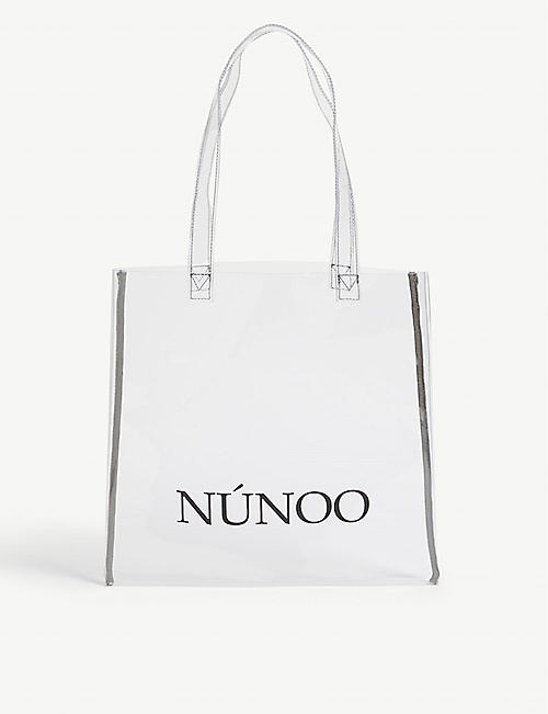 NUNOO Transparent small tote
