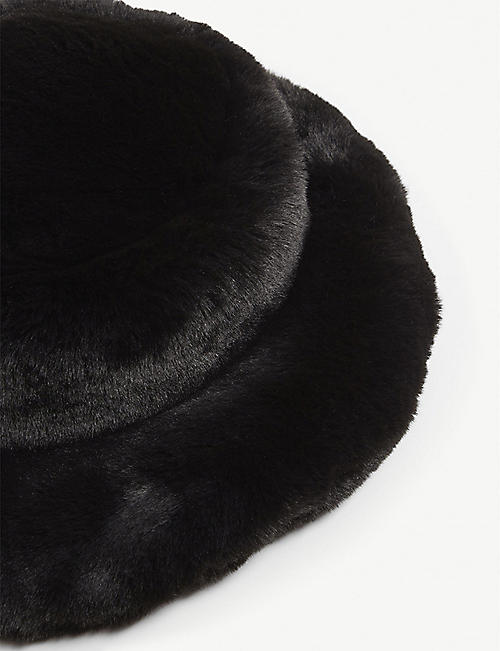 EMMA BREWIN Mini Marion faux-fur hat