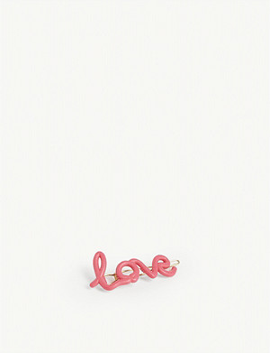 ZOE SHERWOOD 'Love' hair clip