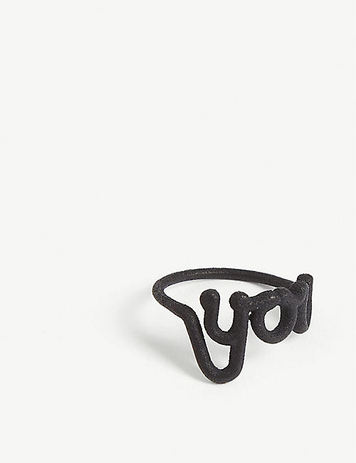 ZOE SHERWOOD You nylon ring