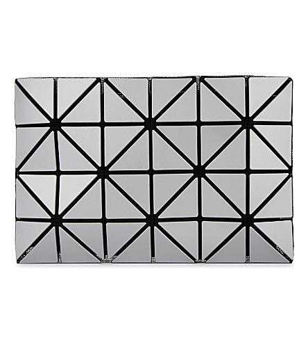 a3490f162d Bao Bao Issey Miyake Lucent Basics Pouch In Silver