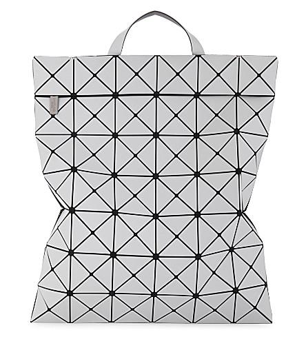 Bao Bao Issey Miyake Prism Flat-Pack Backpack In Light Grey ... 7ce46c3518