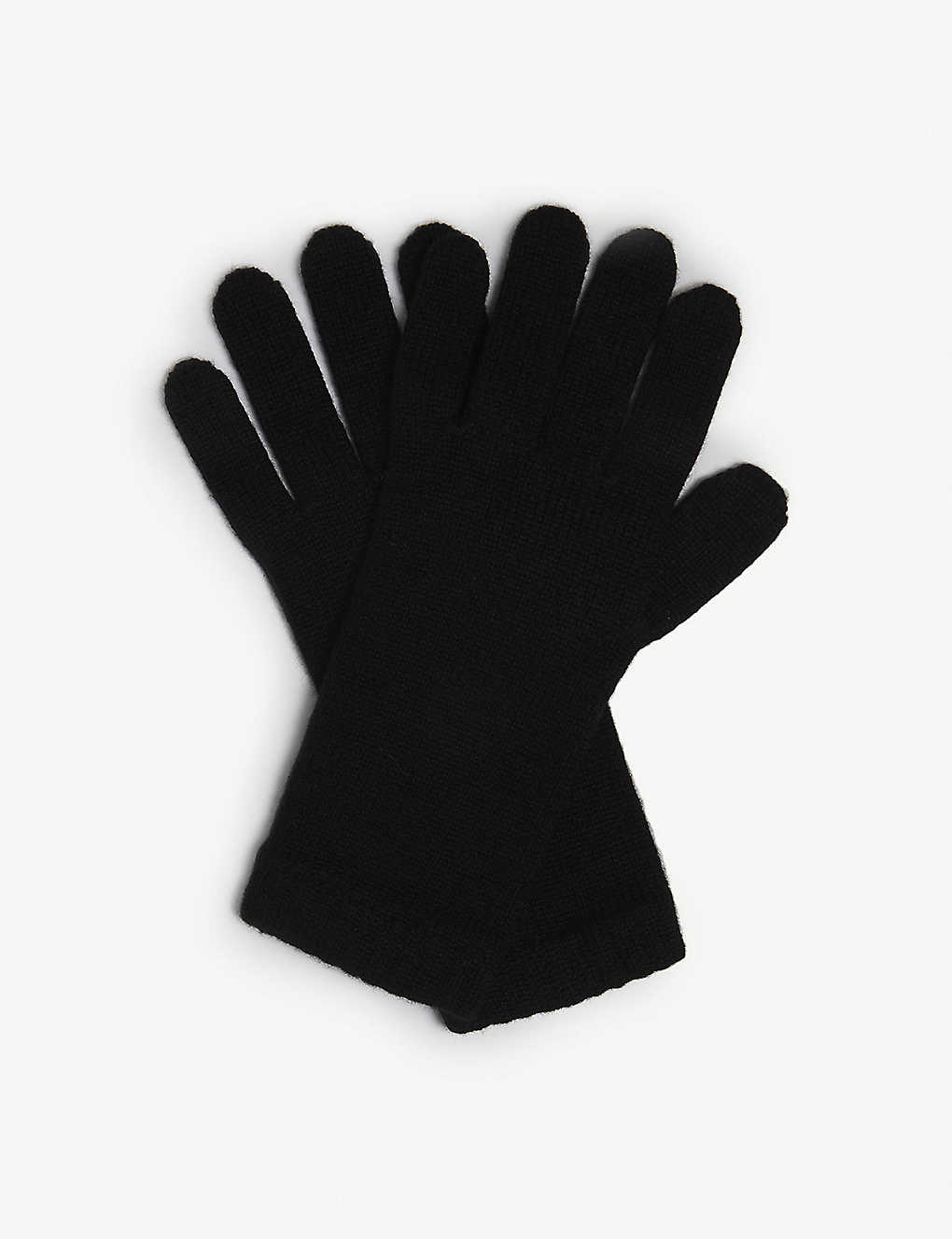 JOHNSTONS: Short cuff cashmere gloves