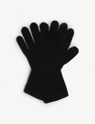 JOHNSTONS Short cuff cashmere gloves