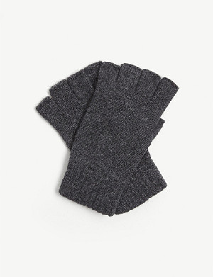 JOHNSTONS Fingerless cashmere gloves