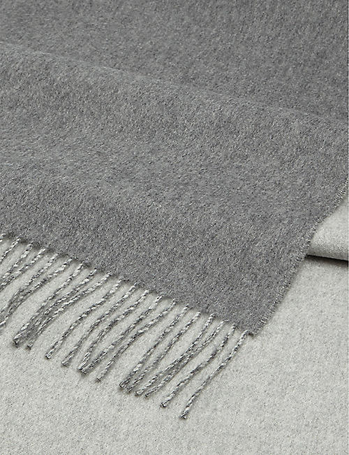 JOHNSTONS Two-tone cashmere stole